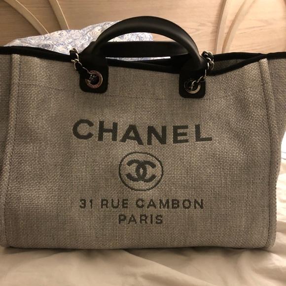 ef4c377e7199 CHANEL Handbags - Chanel Deauville